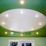 Глянцевый натяжной потолок: преимущества