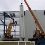 Монтаж стеновых панелей в доме