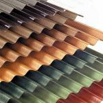 Финишное покрытие крыши из шифера