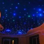 Делаем звездное небо на потолке