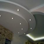 Как сделать на кухне потолки из гипсокартона?