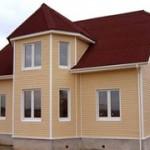 Каркасно щитовые дома в Москве, строительство каркасных домов в Москве, каркасный  дом под ключ в Москве