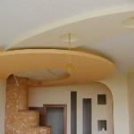 Монтаж и шпатлевка потолочного подвеса