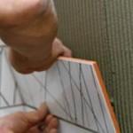 Как положить плитку на гипсокартон?