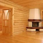 О внутренней отделке вашего деревянного дома