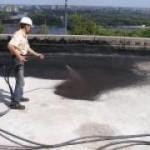 Материалы для гидроизоляции крыш