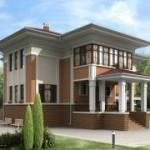 Архитектурные стили в строительстве коттеджей