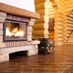 Утепление деревянного дома за городом