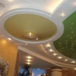 Натяжные потолки: плюсы и освещение