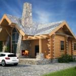 Шале - стиль ремонта загородного дома