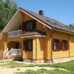Дачный домик из бруса – отличное решение!