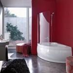 Установить стеклянные шторки в ванную