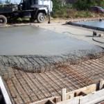Как правильно залить бетонную площадку