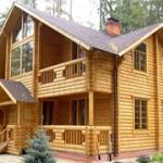 Деревянный дом — выгодный вариант под дачу