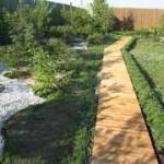 Изделия из дерева в ландшафтном дизайне