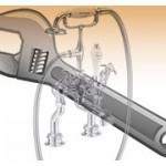 Ремонт однорычажного смесителя
