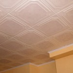 Плитка потолочная из пенополистирола