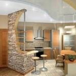 Самостоятельный ремонт кухни и столовой