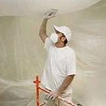 Подготовка потолка к отделке известью