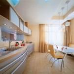 Как совместить кухню с комнатой