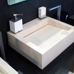 Мойка из искусственного камня для ванной комнаты