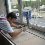 Установка окна из пластика своими руками