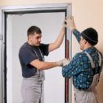 Как установить входные двери
