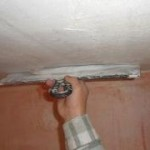 Этапы подготовки потолка под покраску