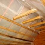 Особенности утепления скатной крыши