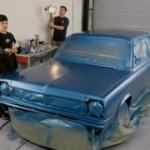 Самостоятельная покраска автомобиля
