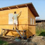 Строительство хозблока на даче