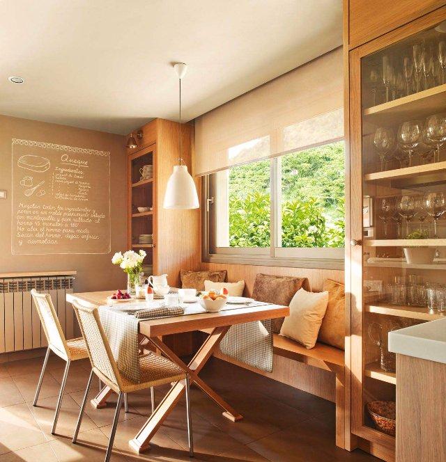 Такого уютного дизайна кухни вы еще не видели