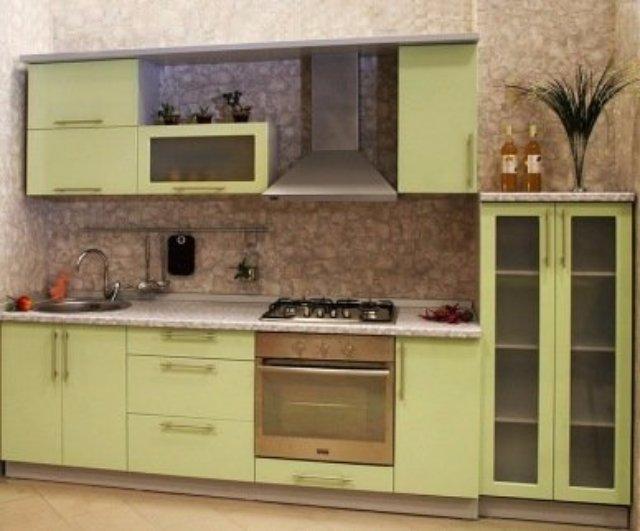 Простой, но лаконичный дизайн кухни
