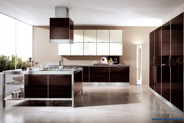 Самая большая кухня в мире — дизайн