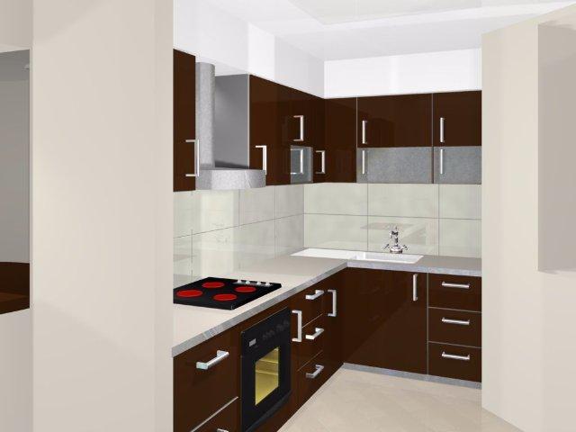Дизайн интерьера компактной кухни