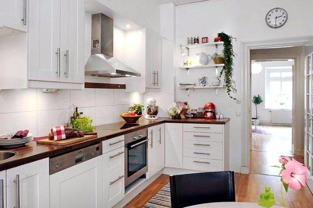 Что можно сделать с белым дизайном кухни