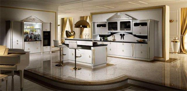 Как превратить интерьер кухни в произведение искусства