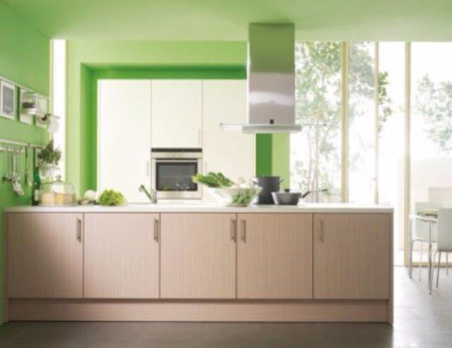Интерьер кухни для тех, кто хочет жить в гармонии с природой
