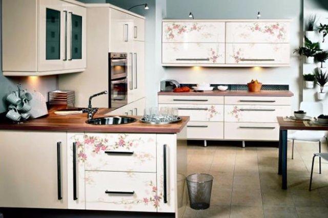 Дизайн расписной кухни