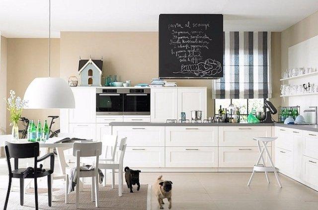 Дизайн кухни для тех, кто любит минимализм