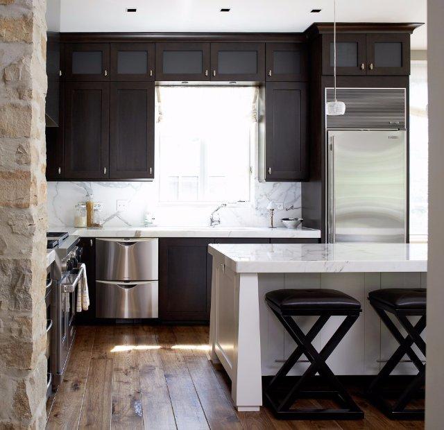 Кухня в каменном стиле - оригинальный дизайн