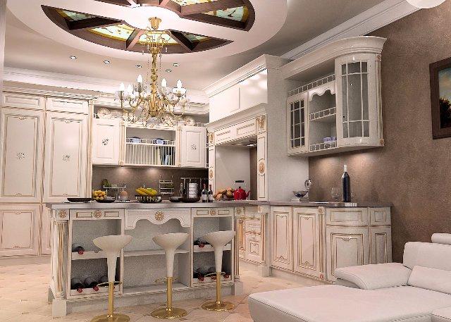 Дизайн кухни для аристократов