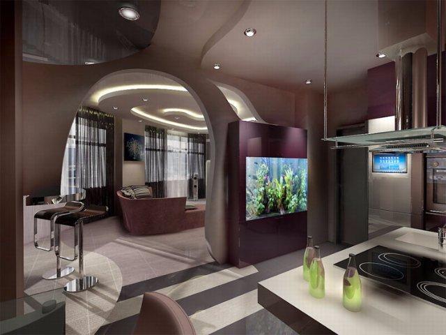 Дизайн кухни будущего