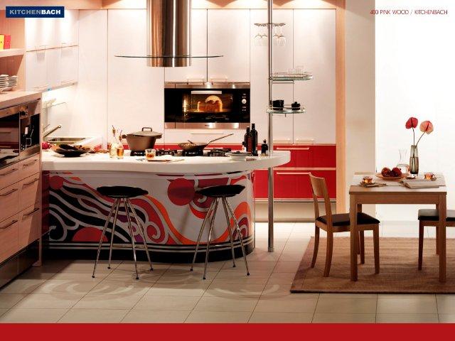 Кухня из красного дерева — как смотрится такой вариант дизайна?