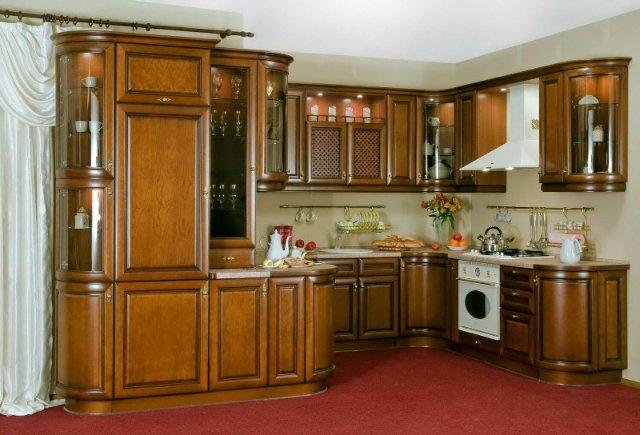 Дизайн кухни в старинном стиле