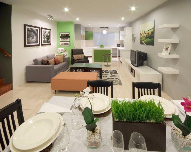Кухня совмещенная с гостиной. Дизайн кухни-студии
