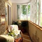 Как выполнить интерьер лоджий и балконов?