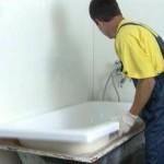 Реставрация ванн акрилового типа