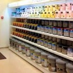 Выбор краски для потолка
