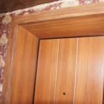 Отделка дверного проема и деревянных дверей